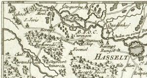 Dheulland 1747 Ausschnitt