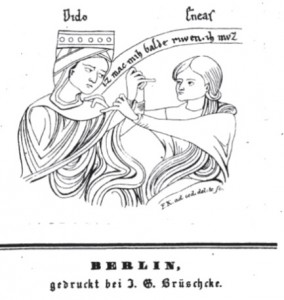 Kugler 1834 Dido und Eneas