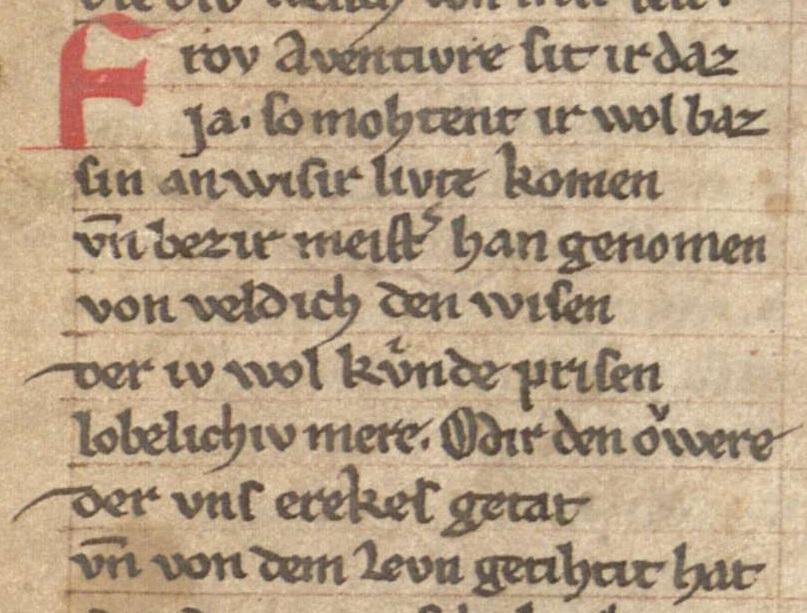 Cgm 63 17va (Willehalm von Orlens)