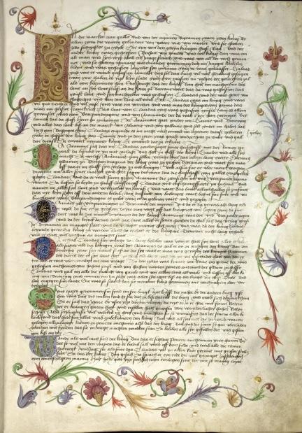 Cpg 147, Bl. 1r (Prosa-Lancelot)