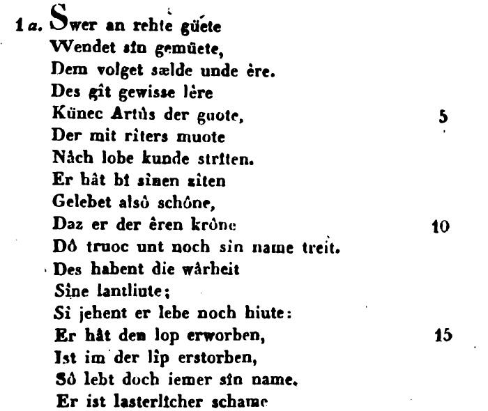 Benecke - Lachmann 1827, S. 9