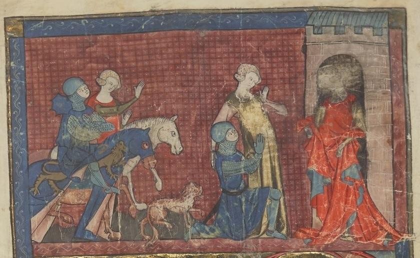 Yvain-Handschrift P (118r)