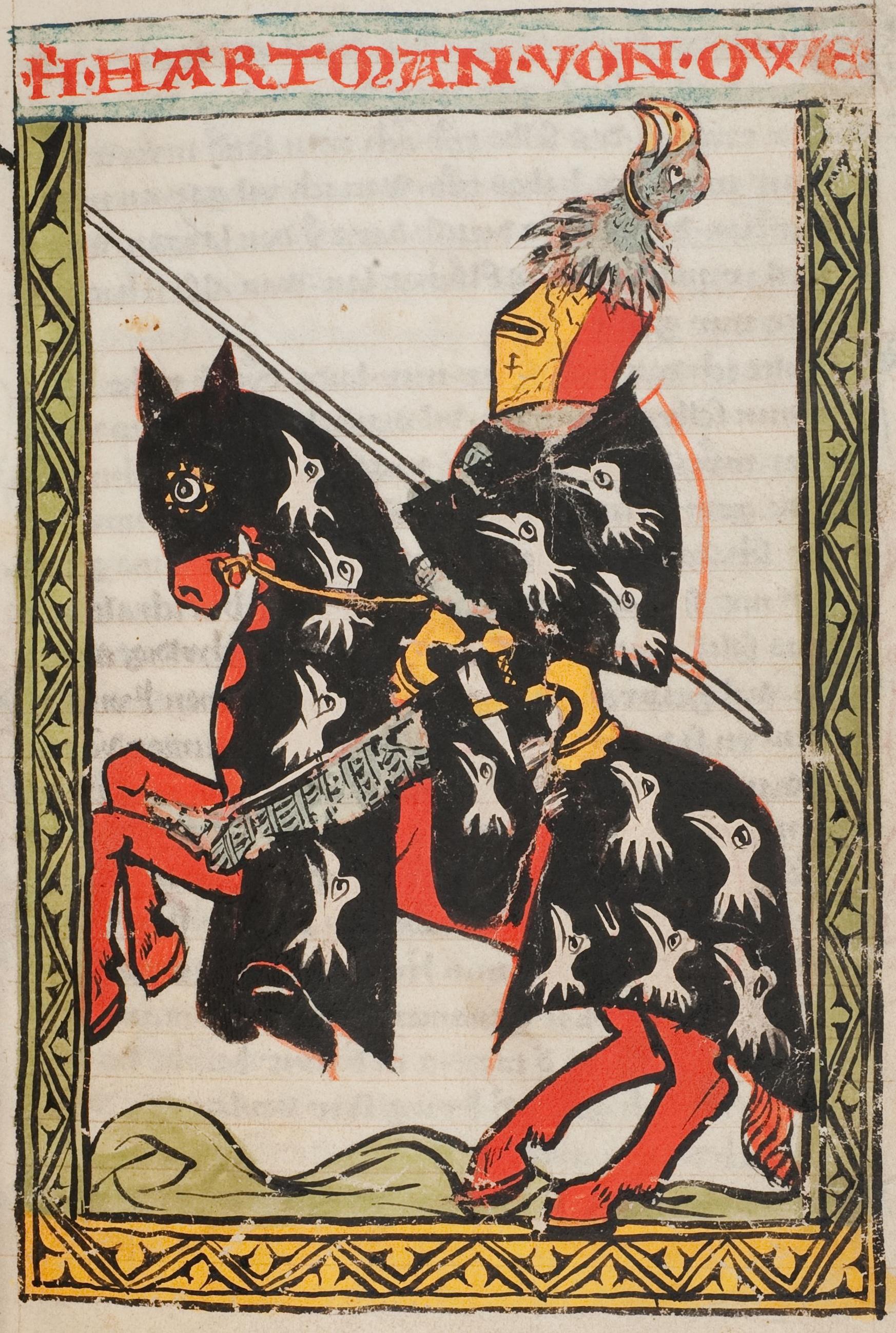 Hartmann Liederhandschrift B S. 33